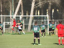 Gol del Alcala en el San Jorge, 5 - Alcalá, 1